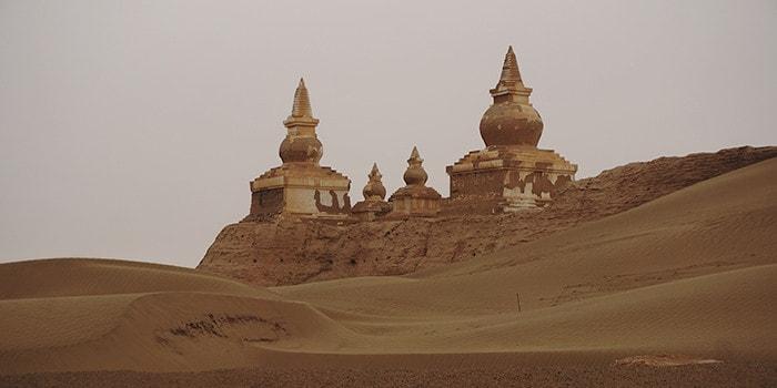 טיול מאורגן למונגוליה, דרך המשי בסין